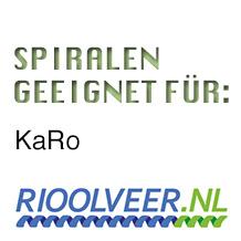 'Rioolveer' Spiralen geeignet für Rioned