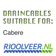'Rioolveer' draincables suitable for Cabere
