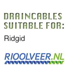 'Rioolveer' draincables suitable for Ridgid