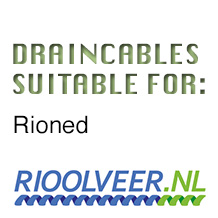 'Rioolveer' draincables suitable for Rioned