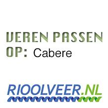 'Rioolveer' veren geschikt voor Cabere