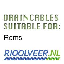 'Rioolveer' draincables suitable for REMS