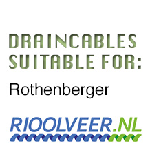 'Rioolveer' draincables suitable for Rothenberger