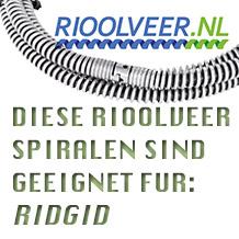 'Rioolveer' für Ridgid