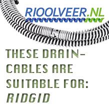 'Rioolveer' for Ridgid