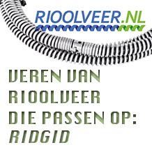 'Rioolveer' voor Ridgid